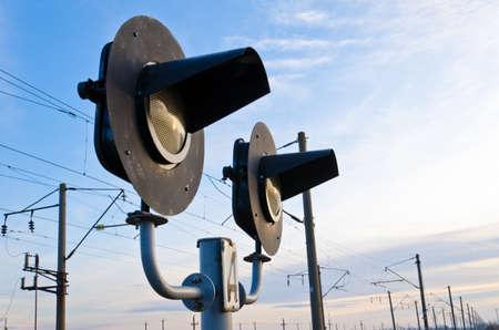 Railway semaphore Stock Photo - 12011715