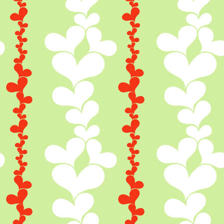 Hearts seamless background Stock Vector - 17336024