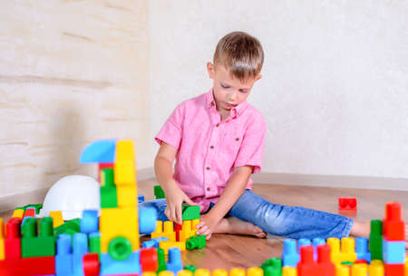 preteen boys: Activity Boy play on floor