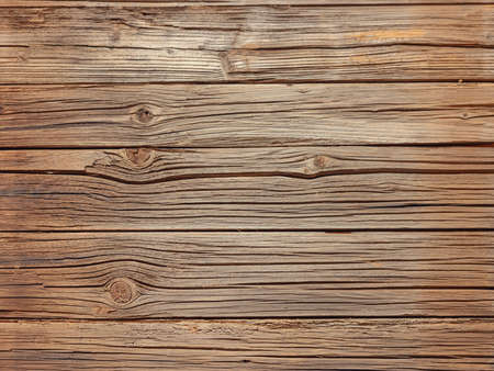 splintered: Full frame of old splintered brown wood background with copy space