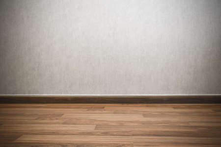 background, blank empty wall and floor in a gray color 版權商用圖片 - 42525607