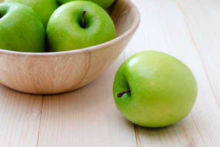different concept: Green Apple think different concept