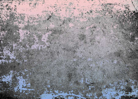 Rose quartz and serenity color on grunge cement texture background