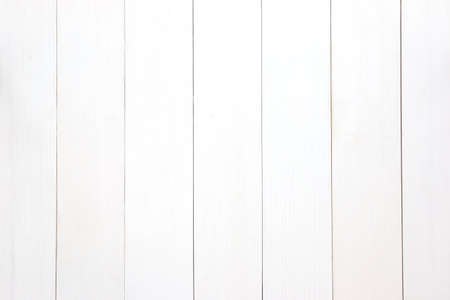 White wooden background planks texture. Vertical composition.