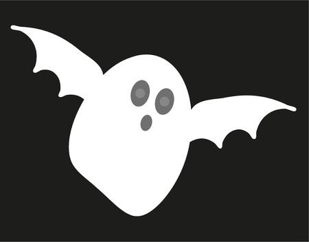 Ghost for hallowen Иллюстрация