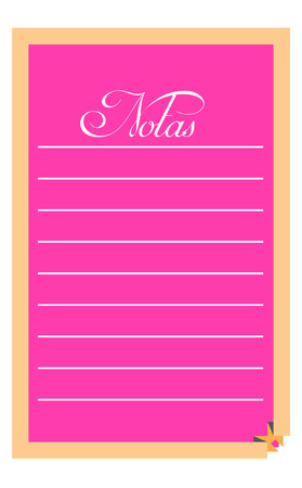 pink notes page