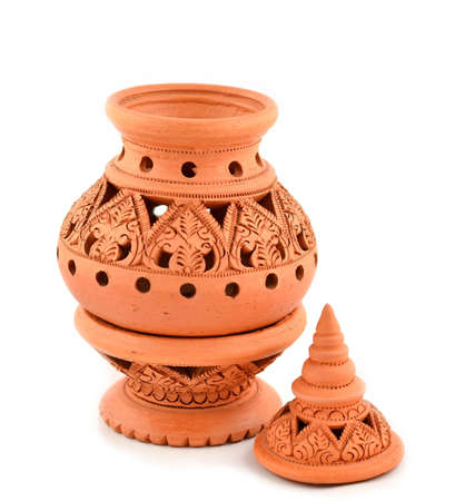 Shaker crafts, pottery of the Thai people.