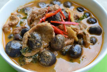 Thailand Food (Mushroom Pho).