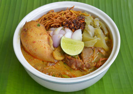 khao soi , curry noodles , thai food photo
