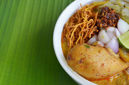 khao soi , curry noodles , thai food photo