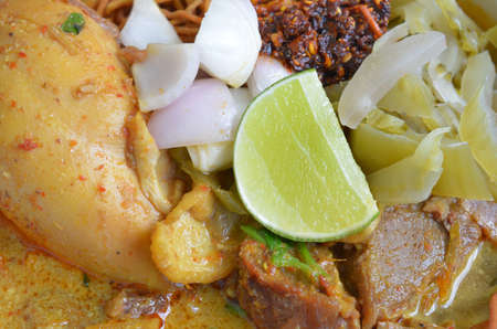 soi: khao soi , curry noodles , thai food