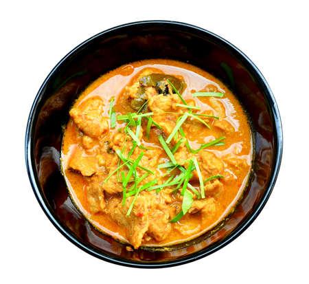 Panang Curry with Beef Recipe (Panang Neua),thai food photo