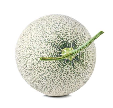 fresh Melon on white background photo