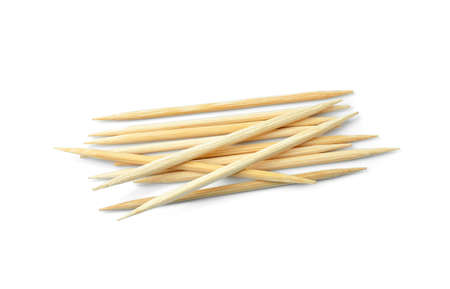 toothpick: toothpick isolated on white background Stock Photo