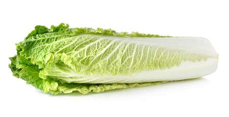 Salat auf wei�em Hintergrund