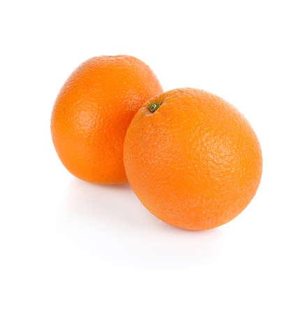 oranges isolated on white backgroun