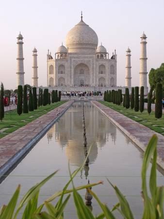 Sunset at the Taj Mahal, Agra, India