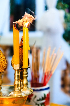 ancestor: The Ancestor worship tradition Stock Photo
