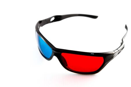 3D Glasses isometric Stock Photo - 16245251