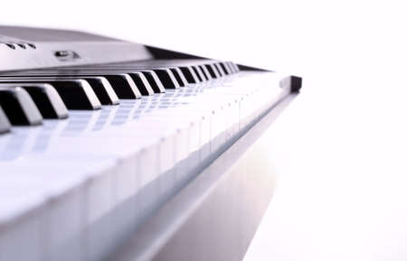The piano for a background