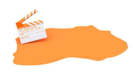 orange cine loops.
