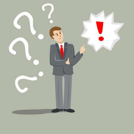 Vector silhouette of a man standing in a suit at the lecture. Businessman, teacher, lawyer, merchant, dealer manager, engineer, politician, presenter, actor Illusztráció