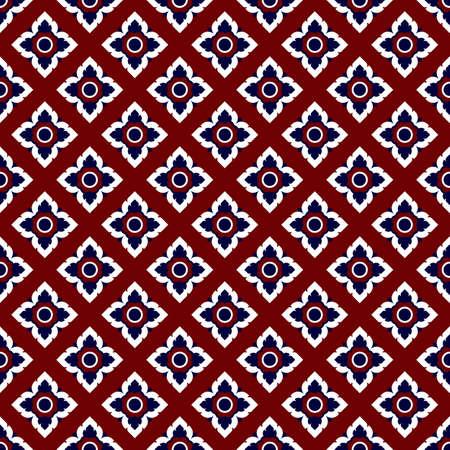 Thai pattern in wall painting,Laithai