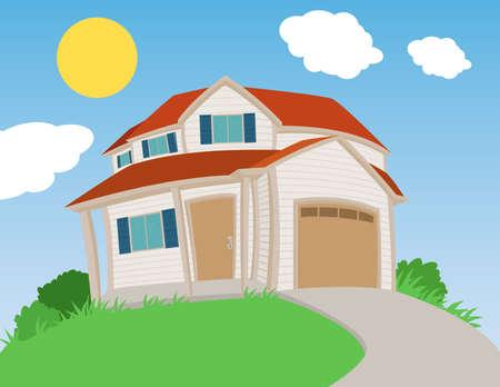 Sweet house Stock Vector - 17354260