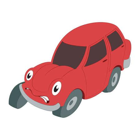 Braking car