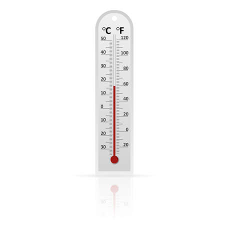 celsius: Vector  of thermometer Illustration