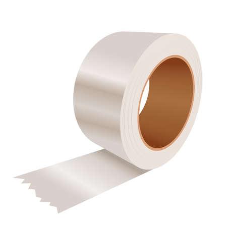 beeld van een realistische Sticky tape