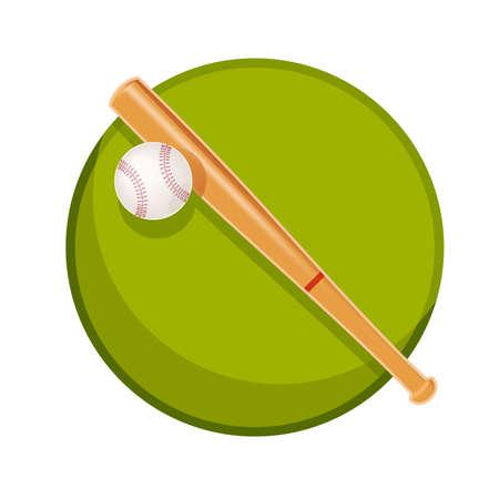 野球のもののイラスト  イラスト・ベクター素材