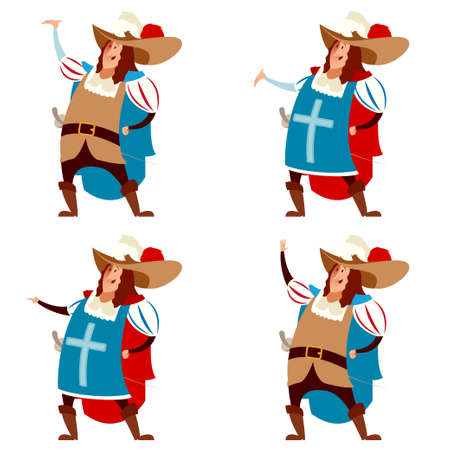 98 Musketeer Hat Cliparts, Stock Vector And Royalty Free Musketeer ...