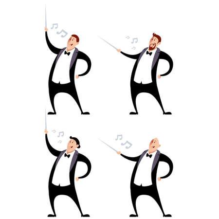 Vector image of a Set of conductors