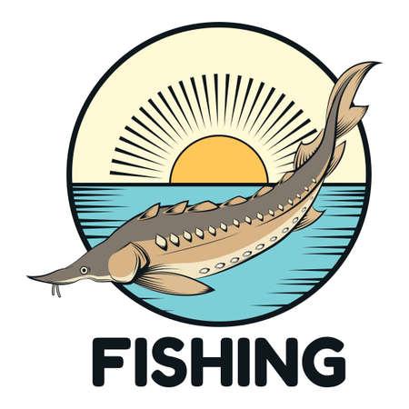 sturgeon: Sturgeon fishing