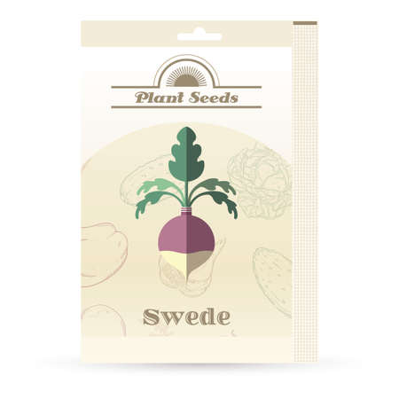 brassica: Pack of Swede seeds