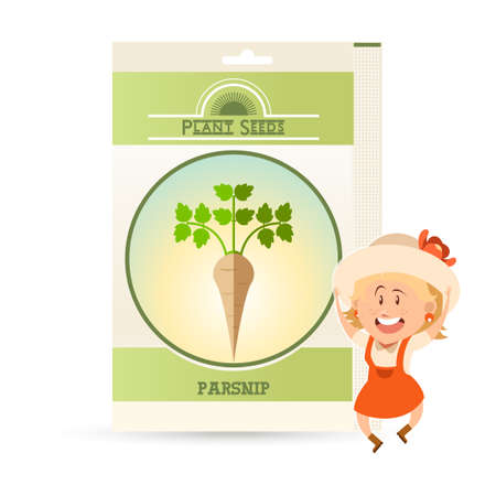 Pack of Parsnip seeds icon