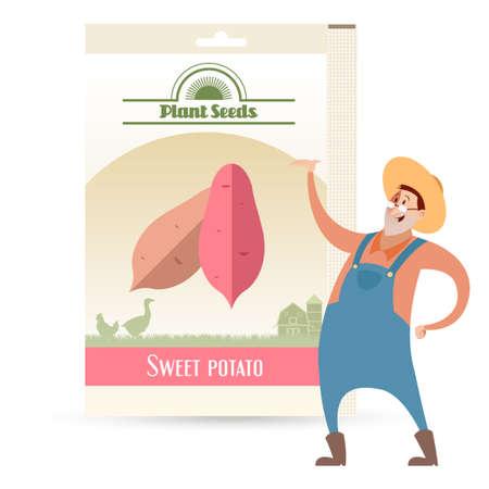 ipomoea: Pack of Sweet potato seeds