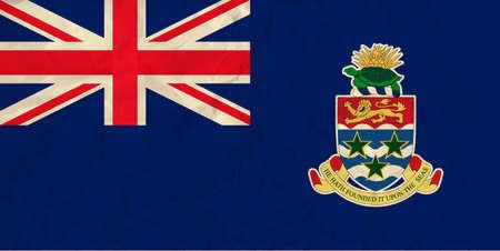 Cayman Islands paper flag