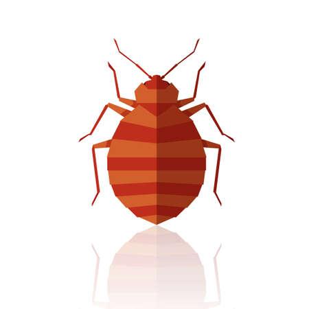 Flat geometric bedbug