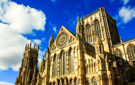 synod: York minster,United Kingdom Stock Photo