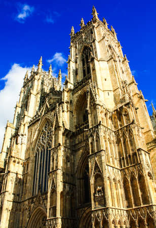 york minster: York minster,United Kingdom Stock Photo