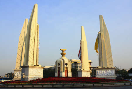 Monument Democracy at Bangkok in Thailand  photo