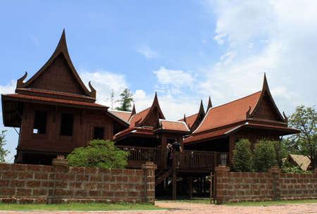 Thai Style Wooden House