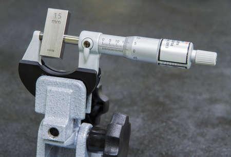 calibration: Micrometro di taratura in laboratorio Archivio Fotografico