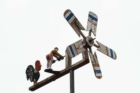 Wooden windmill for garden home decorate Stock Photo - 27467385