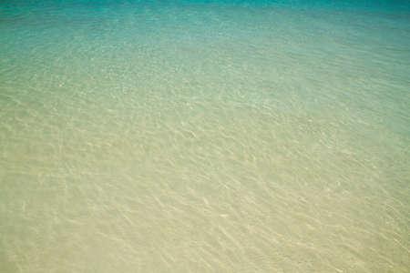 seawater: Seawater emerald color Stock Photo