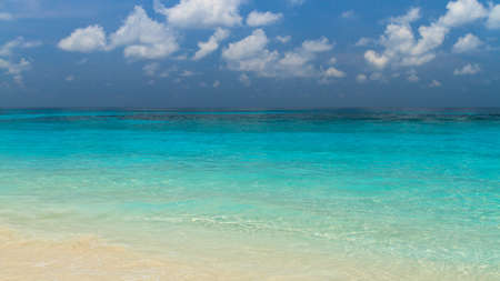 cirrus: Seawater blue color at Tachai island, South of Thailand