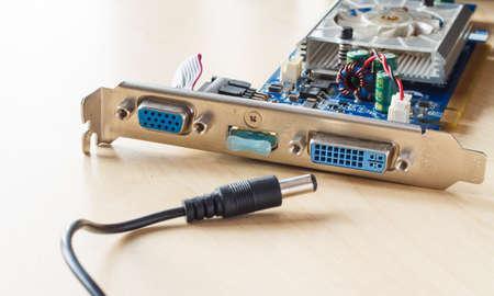 circuitos electronicos: circuitos electr�nicos en la textura de la madera