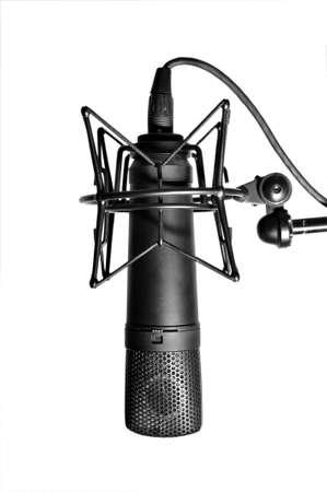 Modern classic microphone photo
